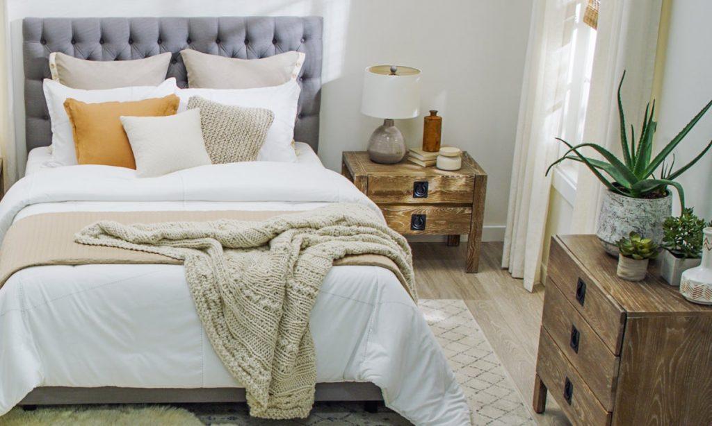 5 idei pentru a amenaja mobila într-un dormitor mic