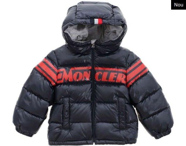 Geaca de iarna baieti Moncler 100% bumbac