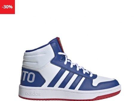 Ghete sport baieti Adidas HOOPS MID 2 0 K