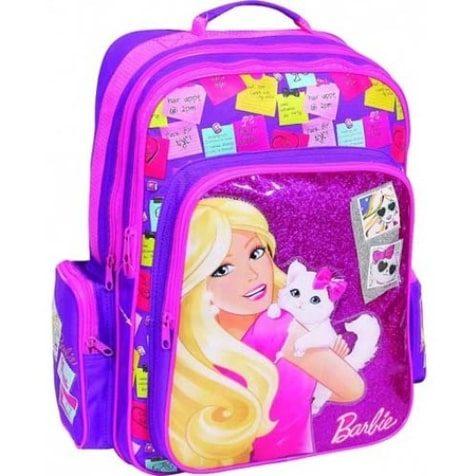 Ghiozdan de scoala fetite Barbie Cat Photo Album