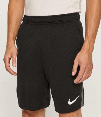 Pantaloni scurti barbati Nike culoarea neagră